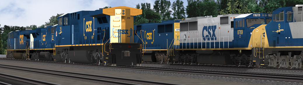 CSX Mainline Power locomotives