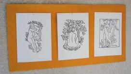 Reproductions de gravures d'A. Maillol