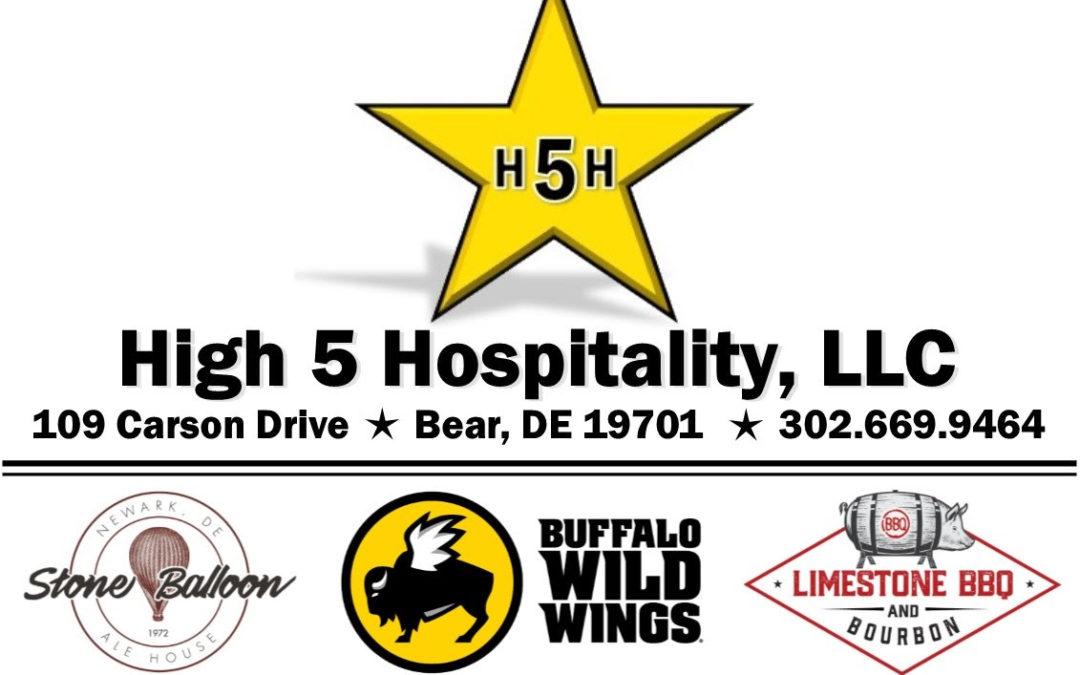 Server at Buffalo Wild Wings Delaware Restaurant Association