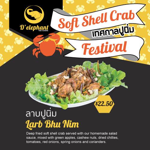delephant_thai_Larb_SoftShellCrabFest