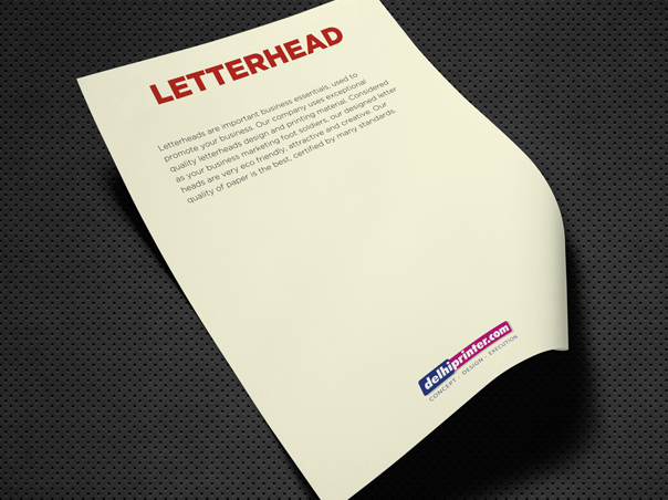 Letterheads, Letterhead Printing, letterhead designs