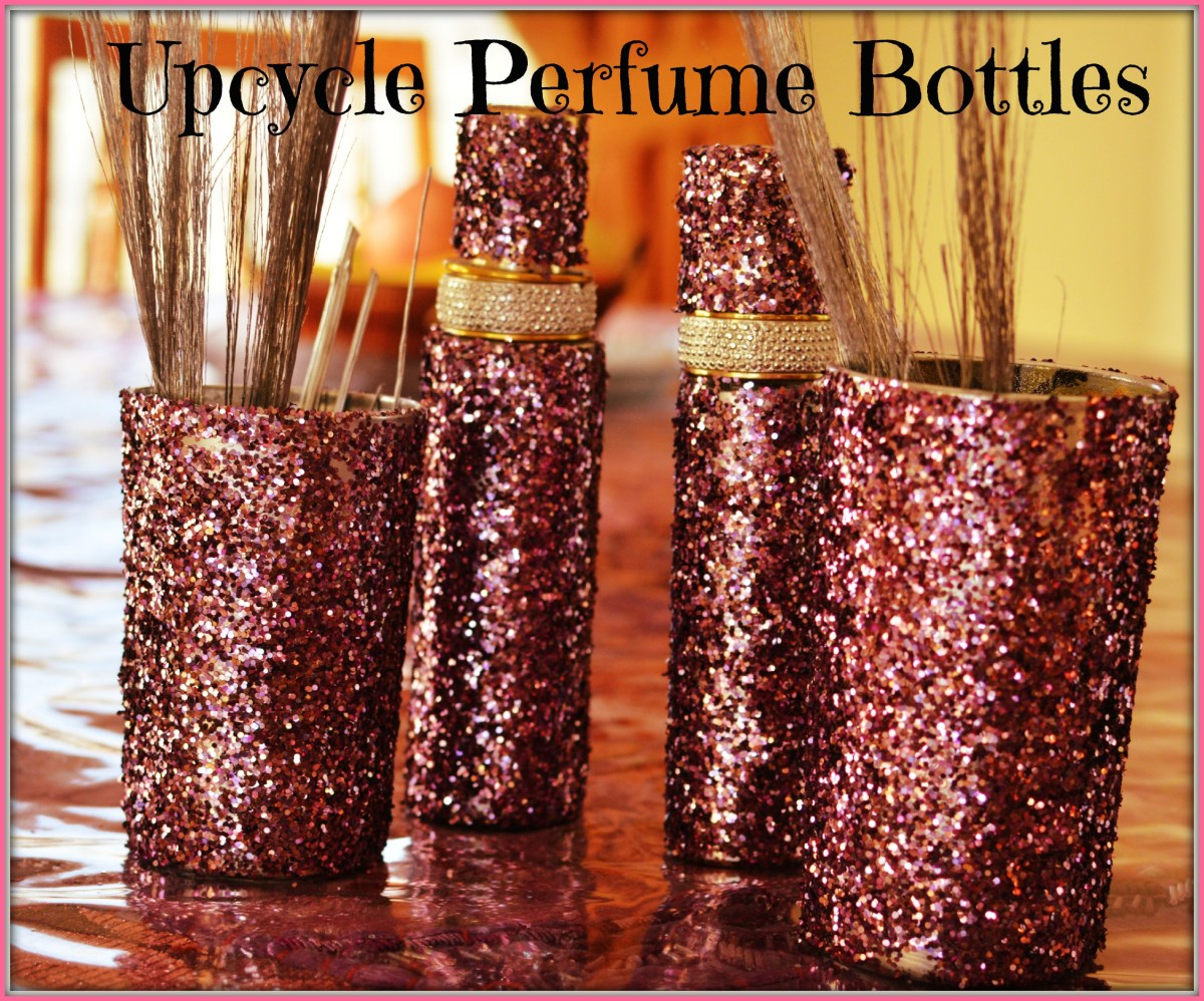 Upcycled Perfume Bottles