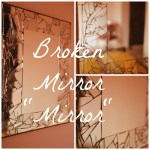 Broken Mirror Wall Hanging DIY