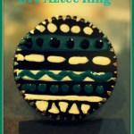 DIY Aztec/ Tribal Ring