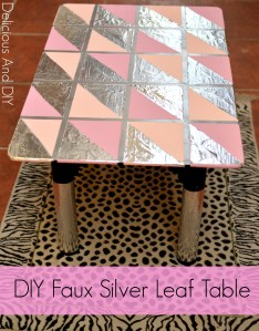 DIY Foil Table