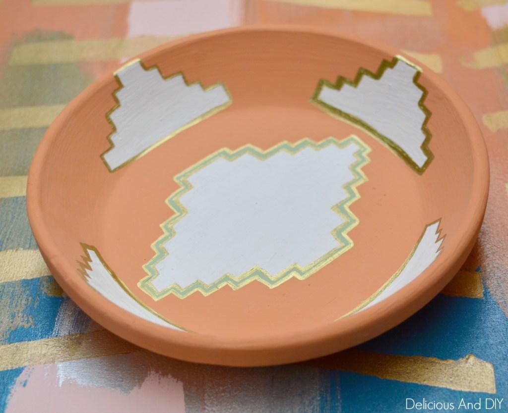 Aztec Inspired Bowl Makeover