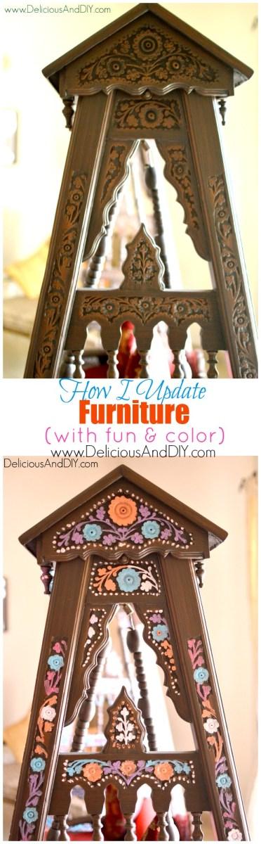 How I Brighten Up Furniture