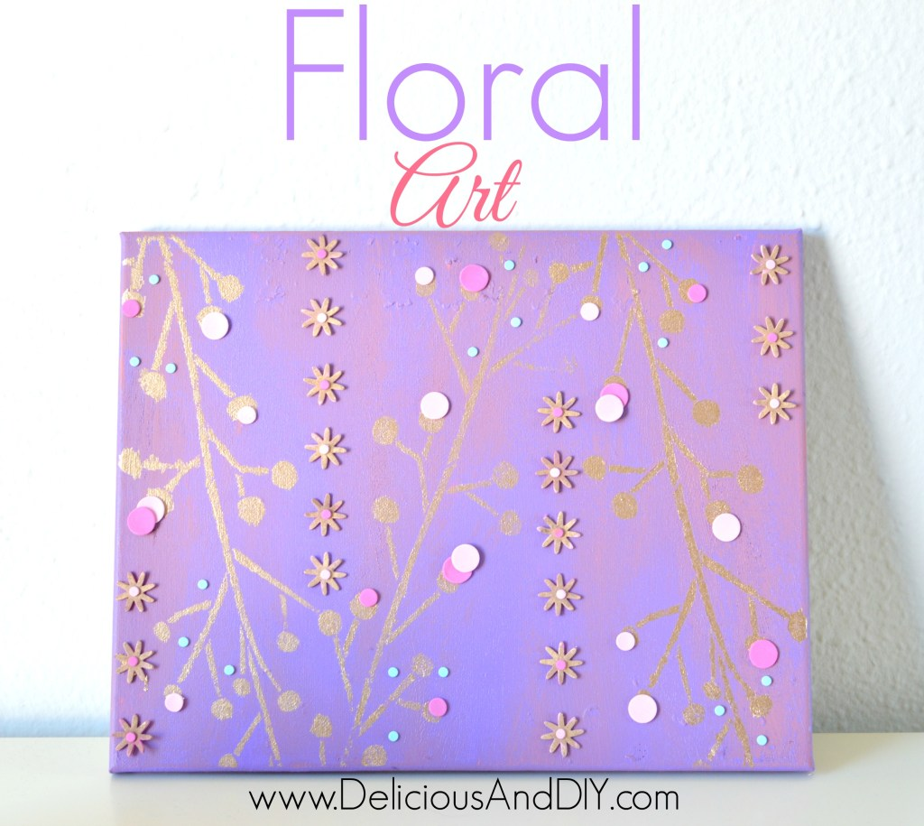 Floral Art - Delicious And DIY