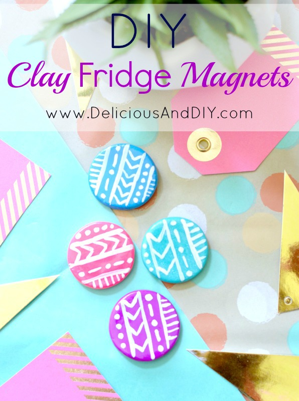 DIY Fridge Magnets| Hand Painted Magnets