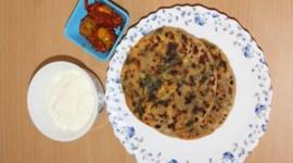 palak paneer paratha recipe
