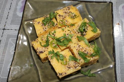 Khaman dhokala recipe