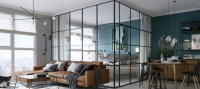 Room of the Week: An Open Plan Living Space with a Glass ...