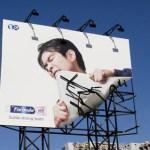 Creativas vallas publicitarias