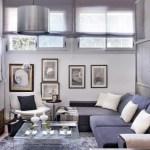 48m² elegantes y confortables en gris