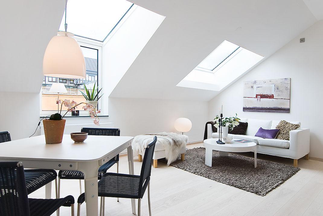 Perfecto piso de estudiantes de estilo n rdico blog - Piso estilo nordico ...