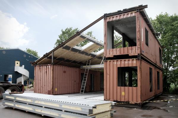 Super casa hecha con contenedores mar timos blog - Casas prefabricadas sostenibles ...