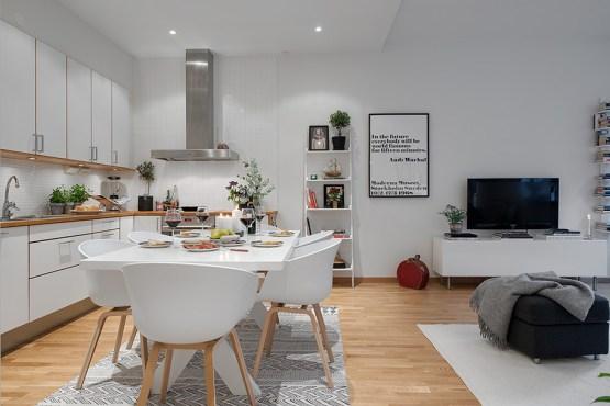 Ikea Decoracion Salon Comedor ~ pisos n?rdicos interiores espacios peque?os iluminaci?n decoraci?n