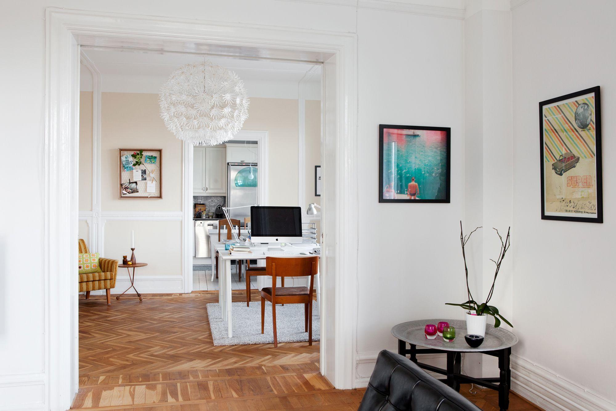 Oficina para dos en el coraz n de la casa blog tienda - Decoracion despachos en casa ...