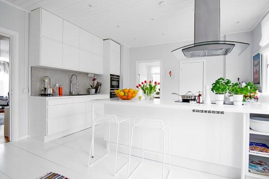 La cocina es lo importante blog decoraci n estilo for Cocinas modernas blancas precios