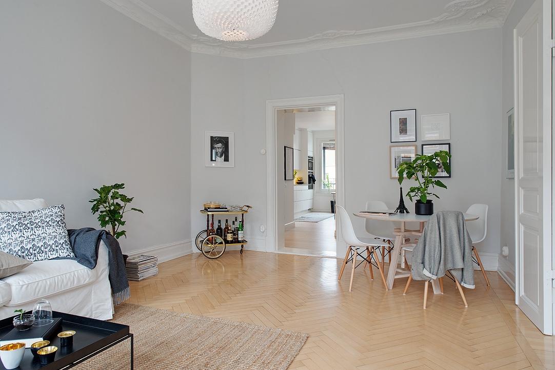 Gris y blanco siempre un acierto blog tienda decoraci n for Casas con puertas interiores blancas