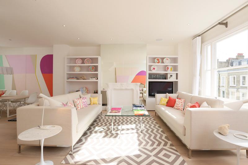 Pasteles dise o y glamour en londres blog decoraci n - Blog decoracion de interiores ...