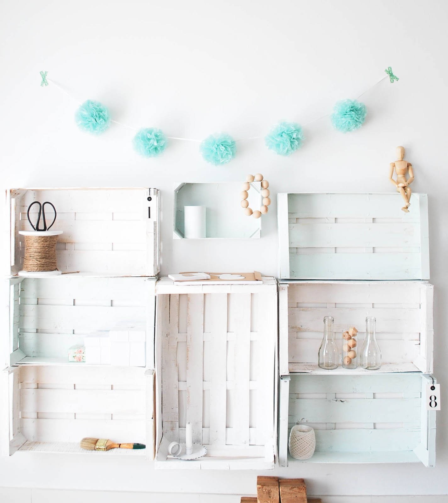 de fruta recicladas cajas de madera de colores bricolaje en casa blog #3A918A 1424x1600