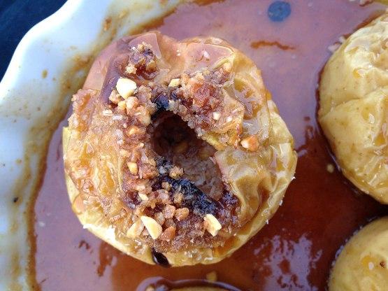 recetas delikatissen recetas con coco y almendras postres rápidos postres fáciles postres delikatissen postres con horno postres con fruta manzanas asadas fáciles Manzanas asadas con miel y coco