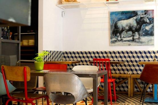 Taberna Pedraza   Madrid estilo nórdico escandinavo estilo industrial   vintage decoración locales comerciales decoración de interiores decoración comedores decoración cafeterías bares decoración bares y restaurantes decoración bares madrid blog decoracion interiores