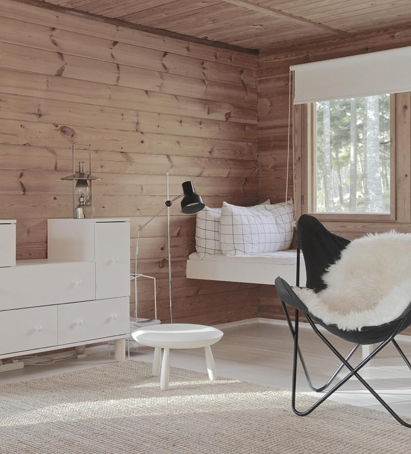 Casa de madera de vacaciones en finlandia arquitectura today - Interiores casas de madera ...