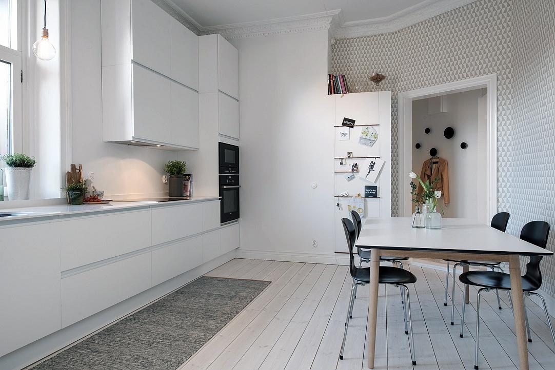 14 trucos para renovar la cocina de forma sencilla blog - Papel pintado para cocinas modernas ...