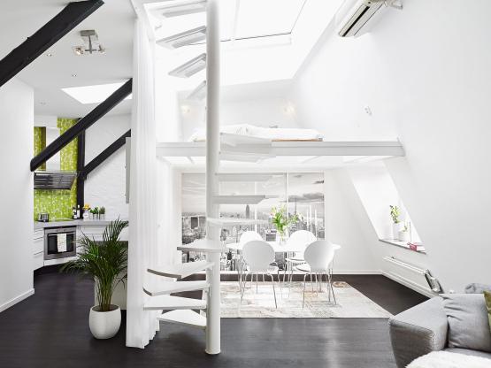 Invito muebles minimalistas muebles a la medida muebles for Tipos de escaleras arquitectura