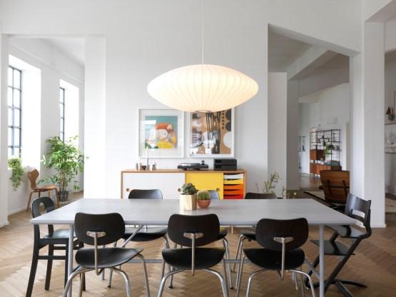 Muebles de diseño estilo nórdico Estilo minimalista distribución diáfana Diseño de exteriores decoración interiores decoración comedores cocinas modernas casa trine andersen ferm living blog decoración