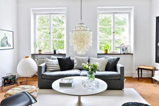 sofas nordicos sofas grises blancos negros Muebles de diseño estilo y diseño n