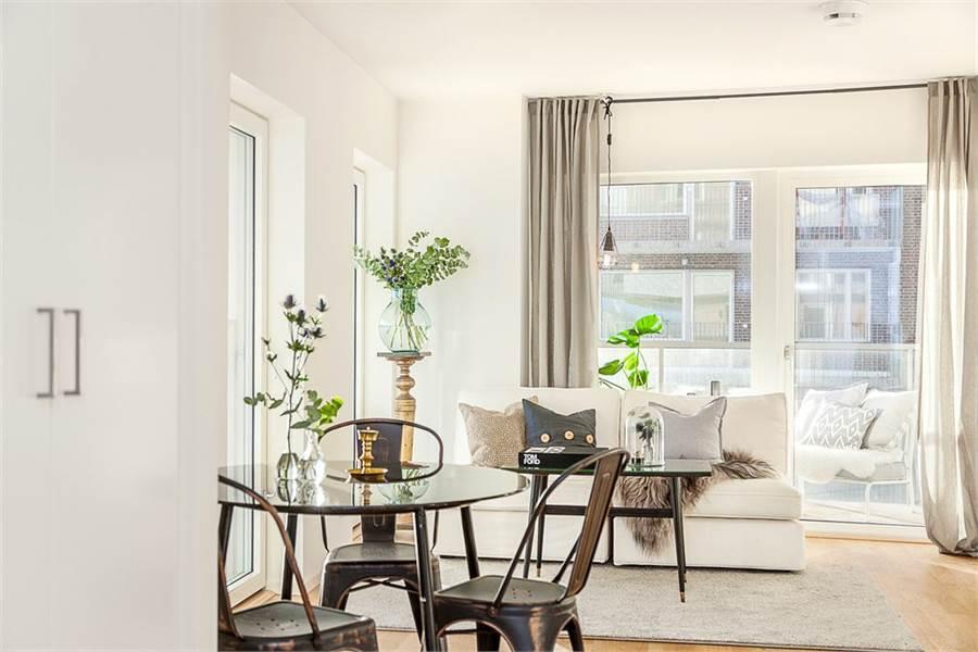 Peque o piso con gran exterior blog tienda decoraci n for Decorar piso pequeno estilo nordico