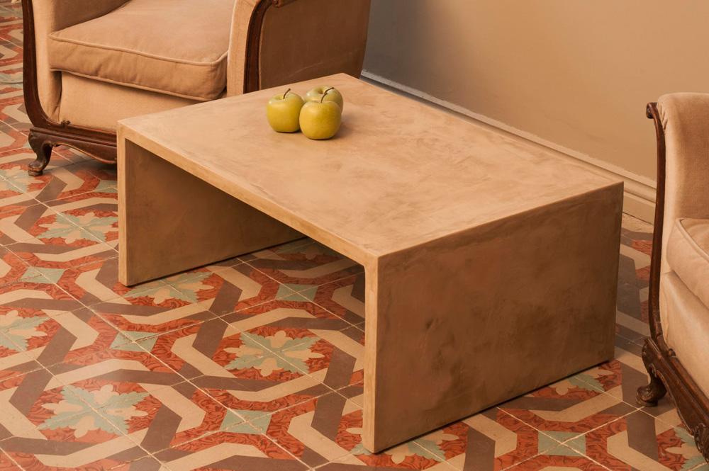 Eusebio bell n artesanos del mueble de microcemento for Muebles reciclados para un estilo industrial