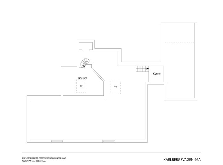 Vigas de madera chimenea y recovecos pisos suecos decoración estilo rústico estilo nórdico moderno espacios diáfanos decoración interiores decoración áticos dúplex cocinas modernas