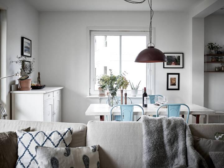Un primero con terraza pisos primera planta pisos pequeños estilo escandinavo decoración terrazas decoración interiores decoración exterior decoración estilo nórdico blog decoración nórdica