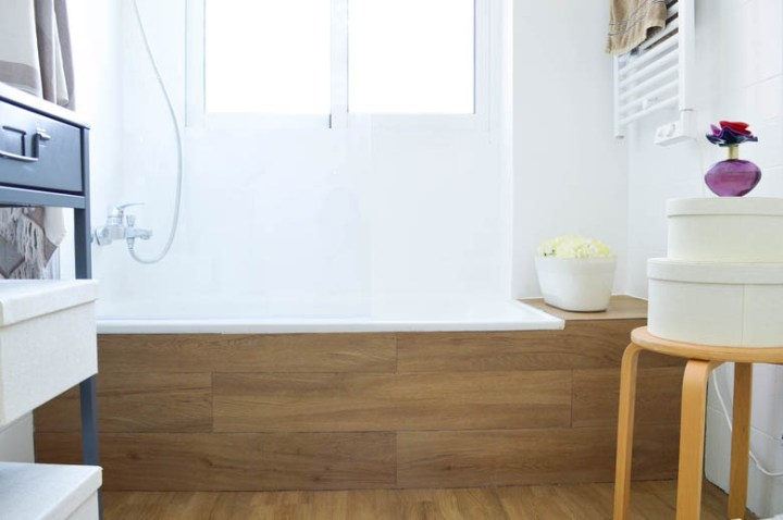 Baños Decoracion Nordica:reforma cuarto de baño reforma con pintura pintura para baldosas diy