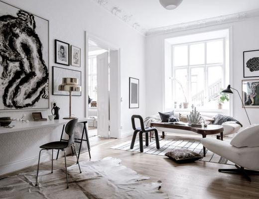 blog decoración nórdica, Cuadros y láminas sobre papel de pared, decoración interiores, estilismo nórdico, papel de pared, Papel pintado