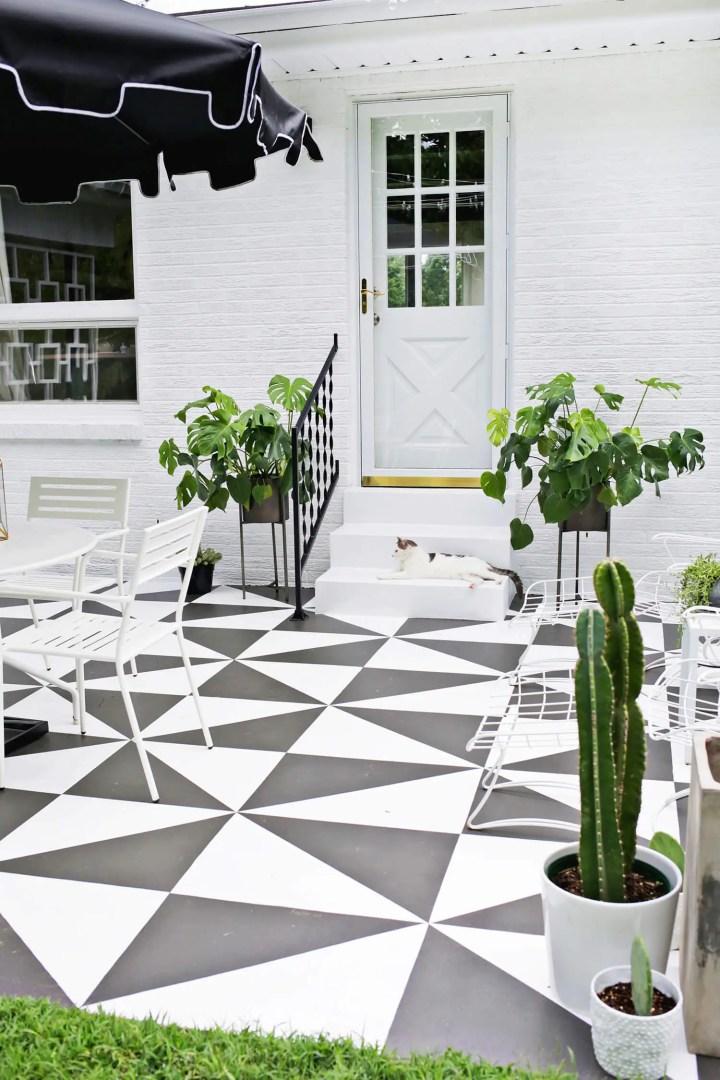 DIY ? Pinta el suelo de tu terraza
