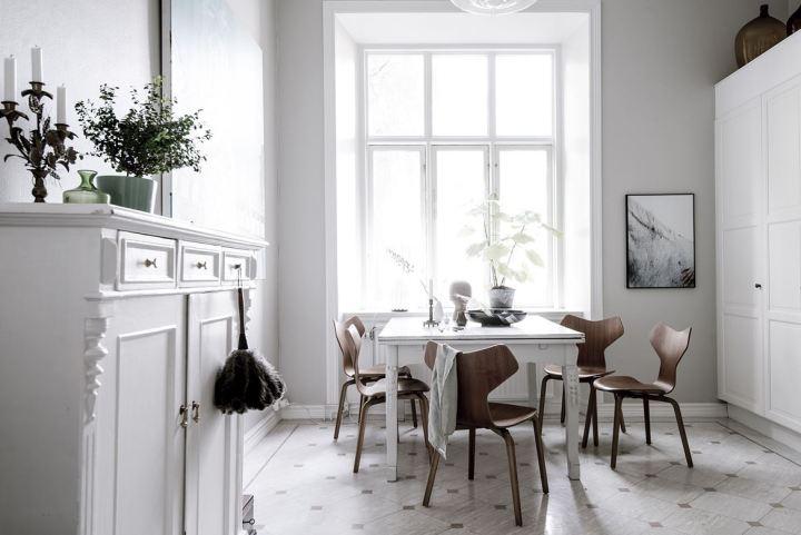 Papel pintado papel de pared estilismo nórdico decoración interiores Cuadros y láminas sobre papel de pared blog decoración nórdica