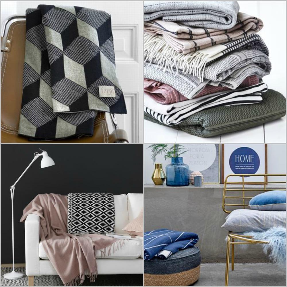 Mantas y plaids para las tardes de sof blog decoraci n - Plaids para sofas ...