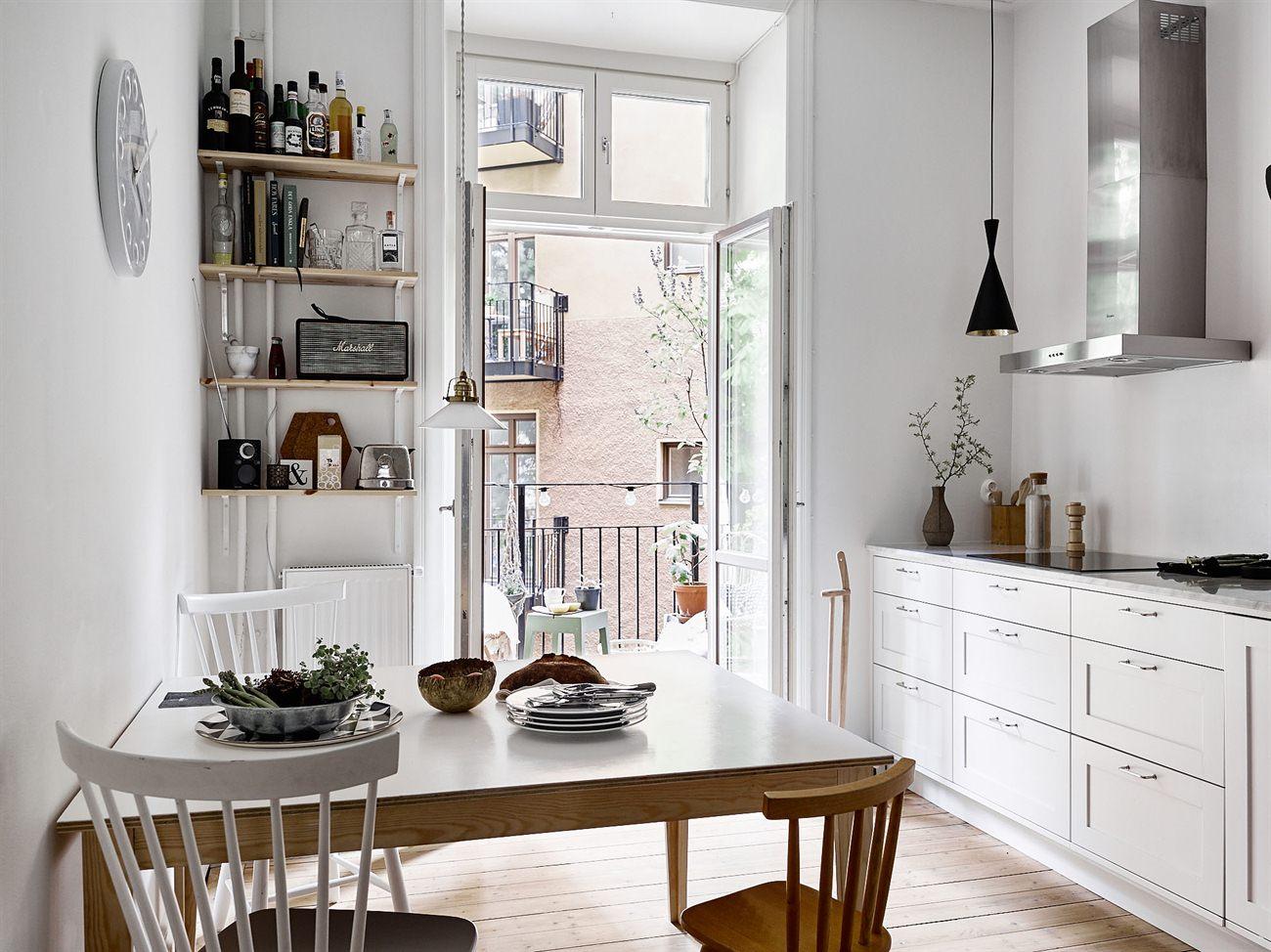 L mparas colgantes sobre la encimera blog tienda - Cocinas nordicas ...