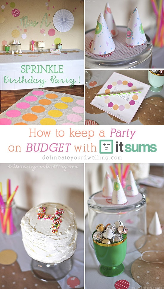 Budgeting for a Party with Itsums