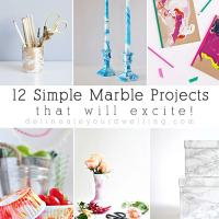 12  Simple Marble Projects that will excite!