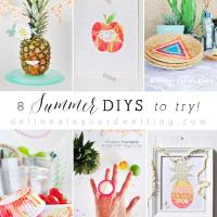 8 Summer DIYS to try