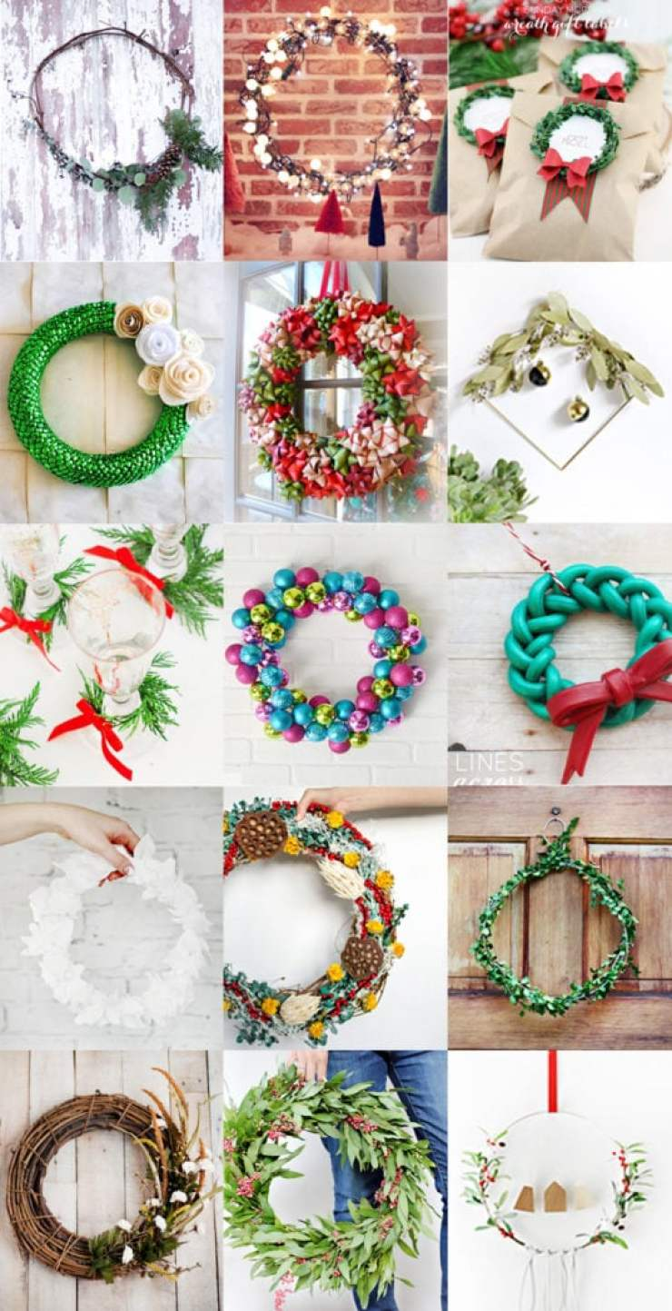 15 Festive Holiday Wreaths