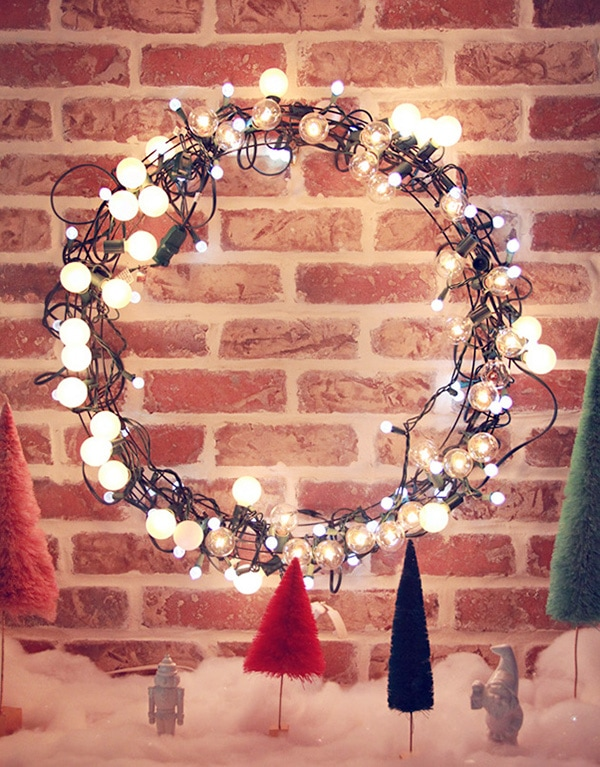 Festive Holiday Wreath 2