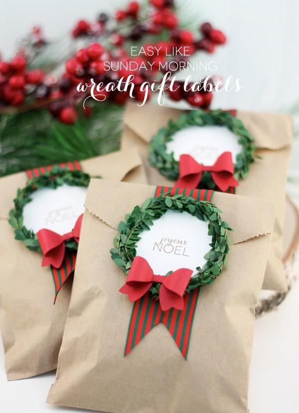 Festive Holiday Wreath 3