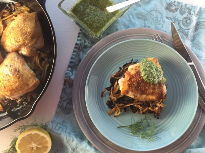 Succulent and Sublime; Fennel pairs with Chicken Two Ways!